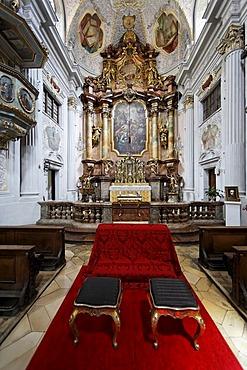 Interior of the Holy Trinity Church, Munich, Bavaria, Germany