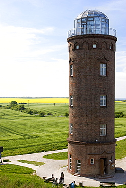 Old lighthouse at Cape Arkona, Ruegen Island, Mecklenburg-Western Pomerania, Germany, Europe