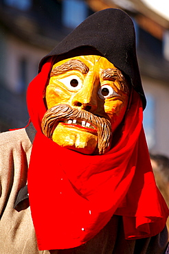 Swabian-Alemannic carnival, celebrated in South Germany, Switzerland and West Austria before Lent, Leutkirch, Baden-Wuerttemberg, Germany, Europe