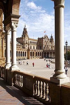 Palacio de Espana palace, Seville, Andalusia, Spain