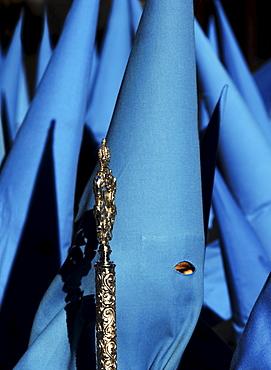 Holy Week procession, Semana Santa, Seville, Andalusia, Spain