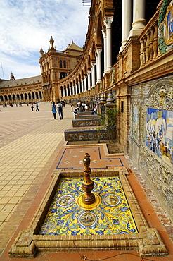 Palacio de Espana, Seville, Andalusia, Spain