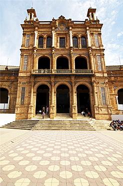 Palacio de Espana, Seville, Andalusia, Spain, Europe