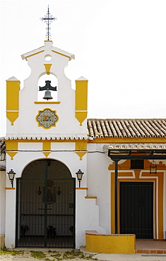 Dos Hermanas confraternity house, El Rocio, Andalusia, Spain