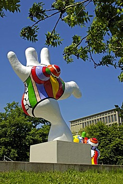 Nanas 1974, Niki de Saint Phalle, Hannover, Lower Saxony, Germany