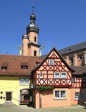 Market of Eibelstadt, Bavaria, Lower Franconia, Germany