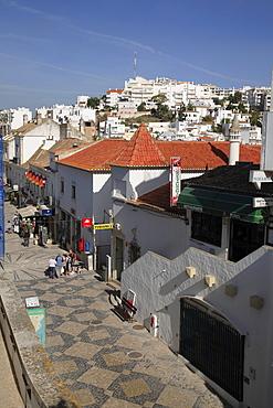 Pedestrian zone, Albufeira, Algarve, Portugal