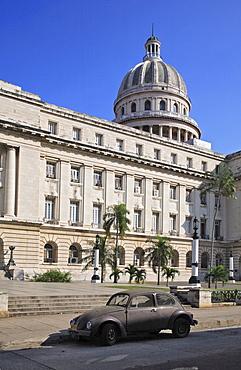 El Capitolio, national capitol building in Havana, Cuba, Caribbean