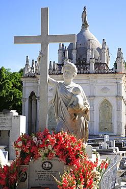 Cementerio Cristobal Colon (Christoph Columbus Cemetery) in Havana, Cuba, Caribbean