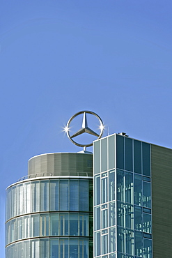 Mercedes-Benz building, Munich, Bavaria, Germany