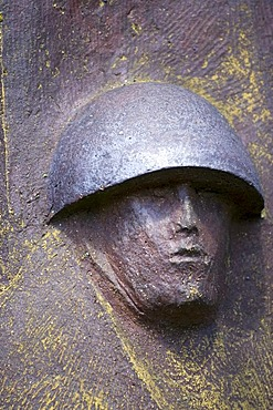 Soldier memorial in Kolobrzeg, Zachodnio-Pomorskie, Poland