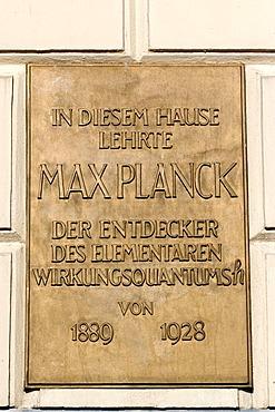 Max-Planck-Institut, Berlin, Germany