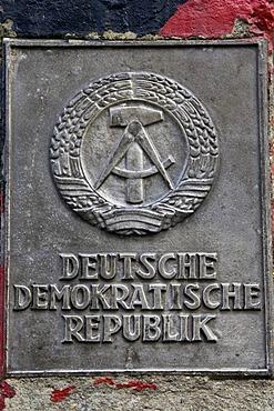 Original GDR border posts