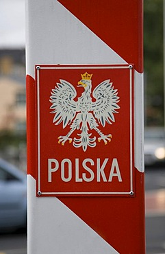 Polish boundary-post, border, Poland