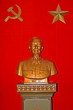 Bust of Ho Chi Minh, Hanoi, Vietnam