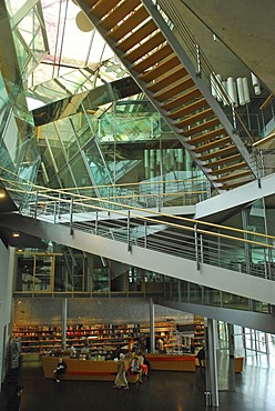 Inside the Akademie der Kuenste Pariser Platz Berlin Germany