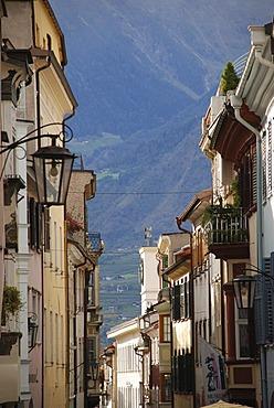 Laubengasse Meran South Tyrol Italy