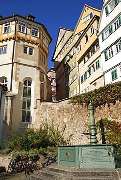 Protestant collegiate house Tuebingen Baden Wuerttemberg germany