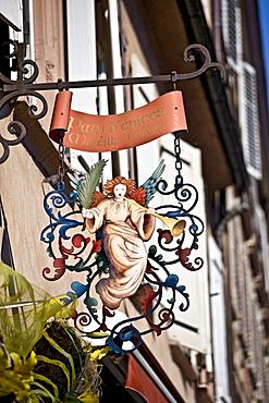 Wine bar, Strasbourg, Alsace, France, Europe