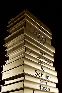 Sculpture Modern Book Printing, Berlin, Germany