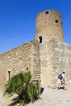 Castle Castell de Capdepera, Capdepera, Balearic Islands, Majorca