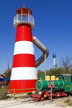 The Ravensburger Spieleland amusement park, near Ravensburg, Baden-Wuerttemberg, Germany