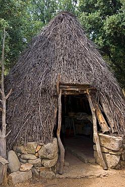 A typical Sardinian shepherd's hut