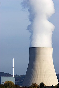 Nuclear power plant Landshut/Ohu, Bavaria, Germany