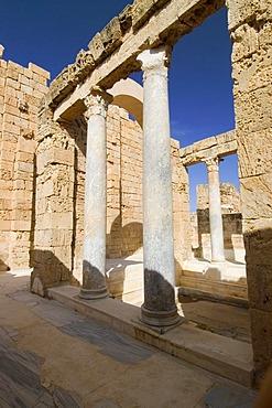 Hadrians baths at Leptis Magna