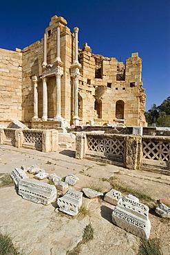 Palaestra at Leptis Magna