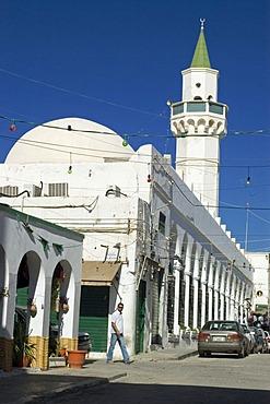 Shopping lane in the historic center of Tripoli, Libya