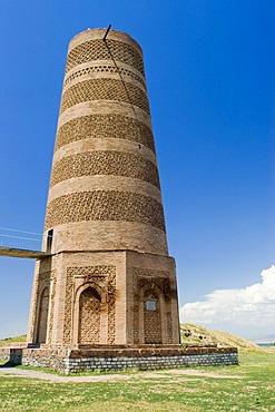 Burana tower, Balasagun, silk road, Kyrgyzstan