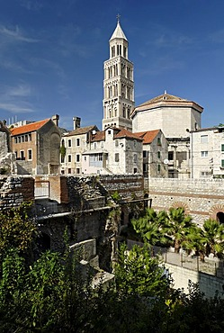 Historic city of Split, Diocletian Palace, Dalmatia, Croatia