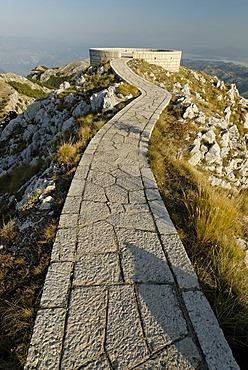 Njegos Mausoleum, Lovcen National Park, Montenegro