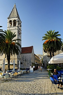 Church in the historic old town of Trogir, Dalmatia, Croatia