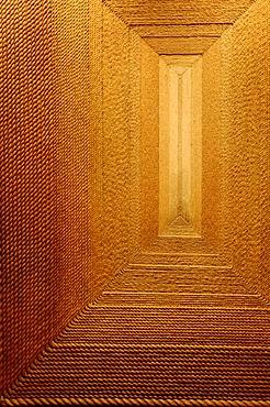 Carpet made of sisal, Museo Nacional de Antropologia, National Museum of Anthropology, Mexico City, Mexico