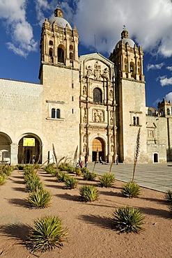 Santo Domingo church in Oaxaca, Mexico