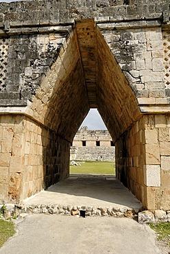 Cuadrangulo de las Monjas, quadrangle or square of the nuns, Maya archeological site Uxmal, Yucatan, Mexico
