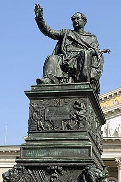 Monument of Max Joseph of Bavaria, Munich, Germany