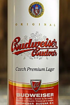 Czech beer can, beer from the Czech Republic