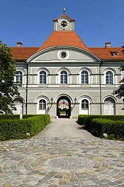 Royal Marstall with Marstall Museum, Schloss Nymphenburg, Munich, Bavaria, Germany