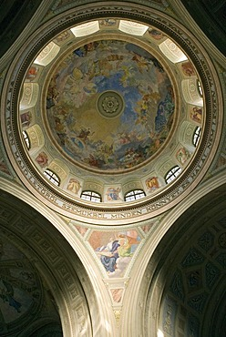 Central cupola, Basilica of Eger, Hungaria