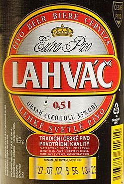 Czech beer, beer from Hanusovice, Bohemia, Czech Republik