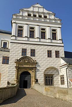 Historic old town of Pardubice, Bohemia, Czech Republik