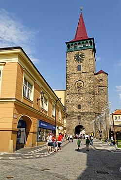 Historic old town of Jicin, East Bohemia, Czech Republic