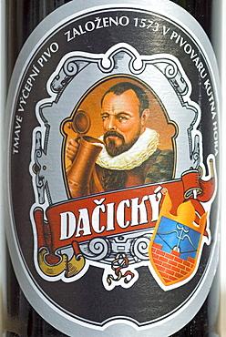 Czech beer from Kutna Hora, central Bohemia, Czech Republic