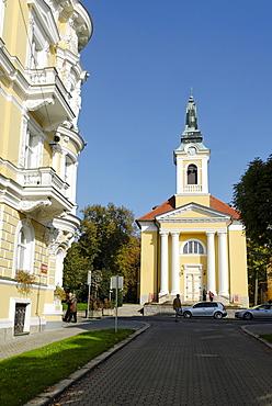 Frantiskovy Lazne Spa, Franzensbad, west Bohemia, Czech Republik