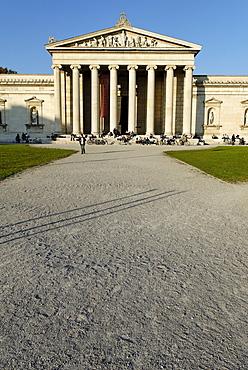 Glyptothek at Koenigsplatz, Munich, Bavaria, Germany