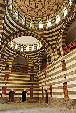 Famous historic caravanserai, Han, Khan Assad Pacha, Damascus, Syria