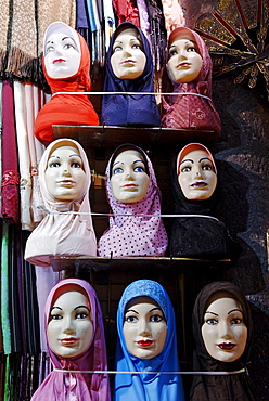 Headscarve for the arabian woman, Damascus, Syria